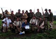 Советская армия... силами канадских каскадёров.